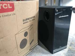 Soundbar and Subwoofer (Brand New)