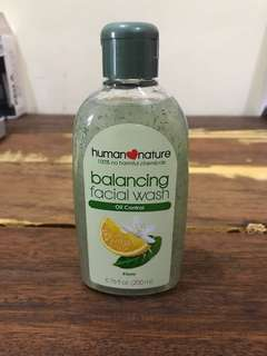 Human Nature Balancing Facial Wash