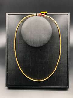 Gold Necklace (916)