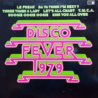VINYL RECORD-  DISCO FEVER- 1979