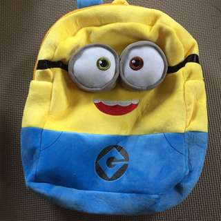 Minions Despicable Me Backpack Bag Toreba