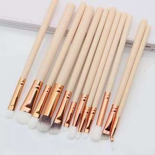 po eye makeup brush set