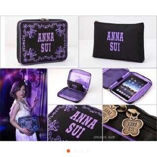 ANNA SUI蝴蝶平板電腦包