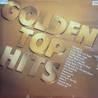 VINYL RECORD- GOLDEN TOP HITS