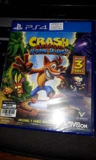 Crash Bandicoot Trilogy Remastered PS4