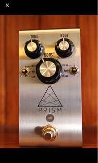 Jackson audio Prism drive pedal