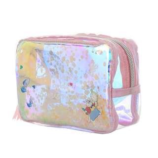 日本 Disney Store 直送 Twinkle 系列 Alice in the Wonderland 白兔先生 Mr. Rabbit 化妝袋 / 雜物袋