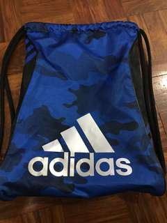 Authentic Adidas Drawstring Bag