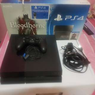 PS4 500 gb black fat for sale