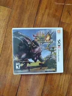 WTS Monster Hunter 4 Ultimate
