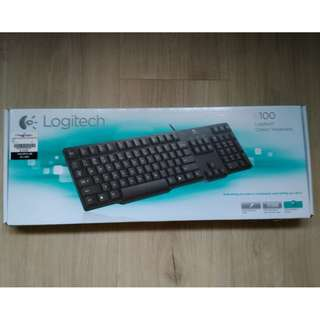 Logitech keyboard k100 (ps/2 port)