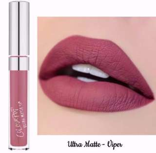SALE❗️Viper Colourpop Ultra Matte Liquid Lipstick