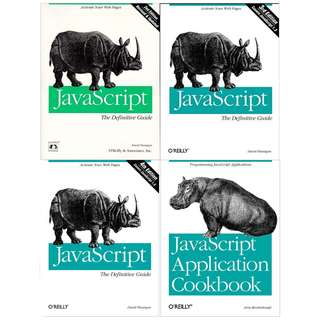 O'Reilly JavaScript books in a bundle
