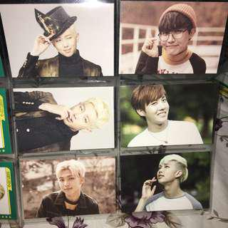 [WTS] BTS MUSTER official player card + mini photocard