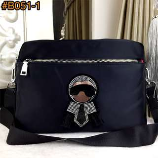 PO.3-5hari. Fashion Karlito bag. Size 29x11x21cm. (LIMITED STOCK). 2 Warna.