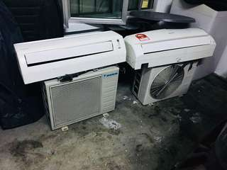 Daikin & sharp 1hp aircond