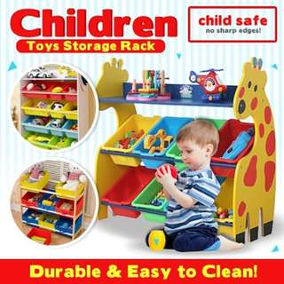 🚚 Giraffe Toy Storage rack for kids/ children play room