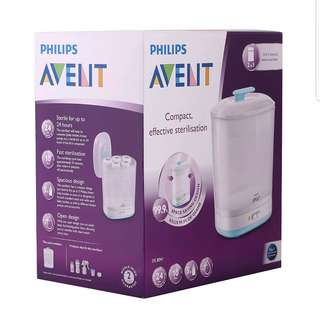 Philips Avent Baby 2 in 1 electric steam sterilizer