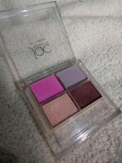 JQC cosmetics eyeshadow sombre mood rias mata palet