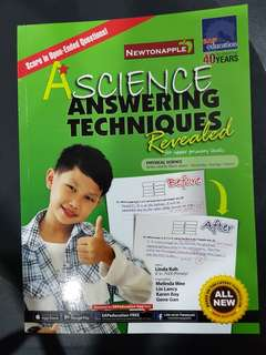🚚 A*Science Answering Techniques by Linda Koh