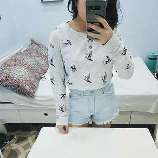 H&M Birds Sweater/Pullover