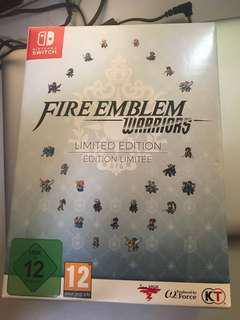 Nintendo switch fire emblem warriors special edition