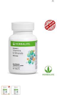 Herbalife Formula 2 Vitamins and Minerals