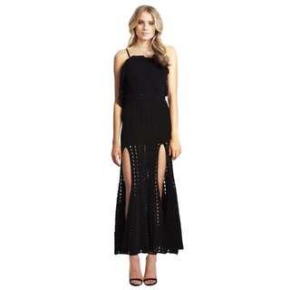Alice McCall Black Maxi Dress Size 6