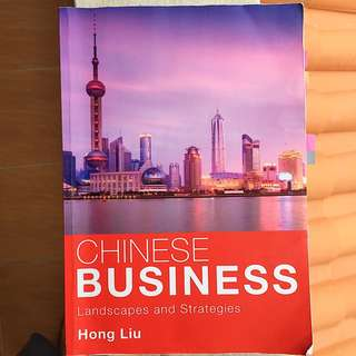 Chinese Business by Hong Liu