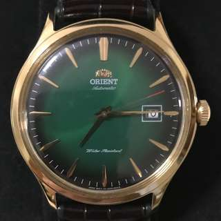 Orient Bambino Version 4 Green Dial AC08002F