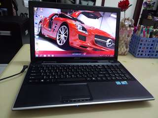 Msi i5/win7/4Gb Ram/15.6inch/Gaming