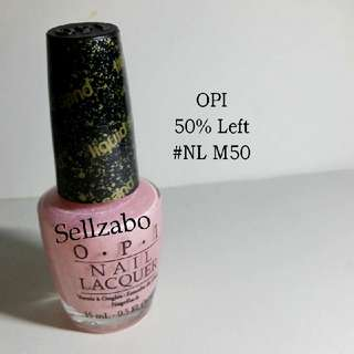 5/10 Opi Pink Colour Nails Polish Finger Fingernails Toes Manicure Pedicure Care Sellzabo #NL M50