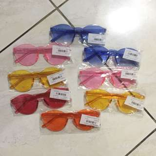NEW Kacamata jelly candy sunglasses