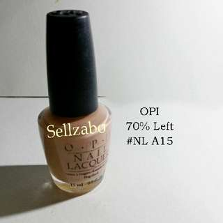 7/10 Opi Nude Colour Nails Polish Finger Fingernails Toes Manicure Pedicure Care Sellzabo #NL A15