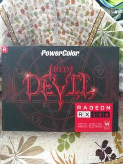 Powercolor RX 580 8GB Red devil