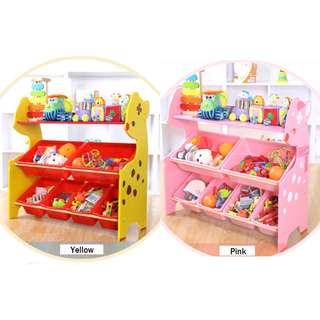 Toy Storage Rack ❤️ (3 Colors Available)