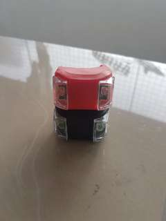 Rear and Front Blinking lights - original price 100