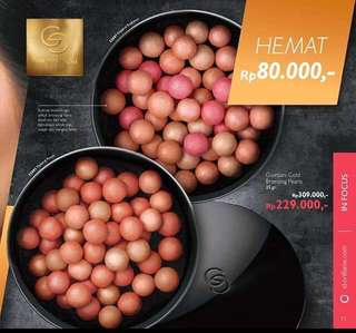 Blush on butiran - Giordani - oriflame - original (Discount)