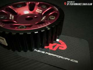 Cam Shaft Pulley OBX For Waja 4G18 MMC Red Color T7 Aluminium