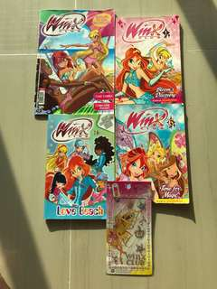 Winx Club books - x 4 books