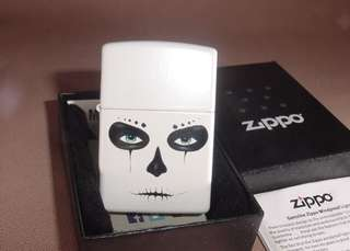 美國 Zippo 打火機  28828 Day Of  Dead -  SKULL MASK
