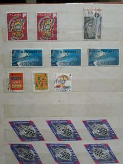 Singapore Stamps