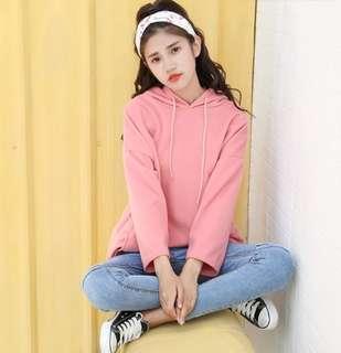 Korean Boyfriend Oversized Hoodie Top