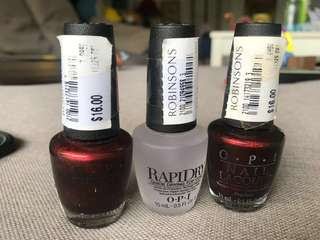 100% OPI nail Color