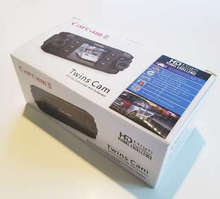 🚚 雙鏡頭行車紀錄器 Carcam III