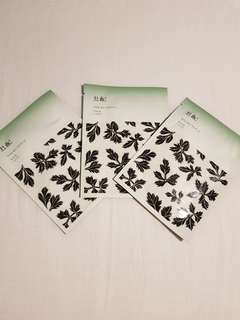 Face Mask from KOREA - 1 set isi 3