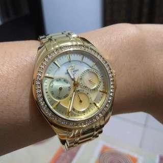 Jual jam tangan wanita Swiss Army 2237 gold