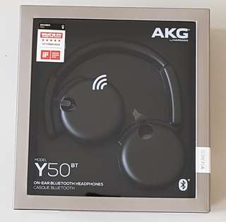 AKG Y50BT Bluetooh Wireless Headphone