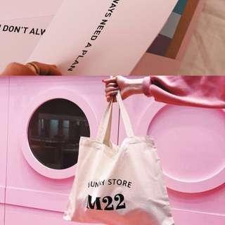 🚚 漢娜 Mercci22 品牌限定肩背包+粉紅資料夾