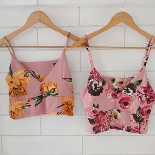 Floral Bralette Style